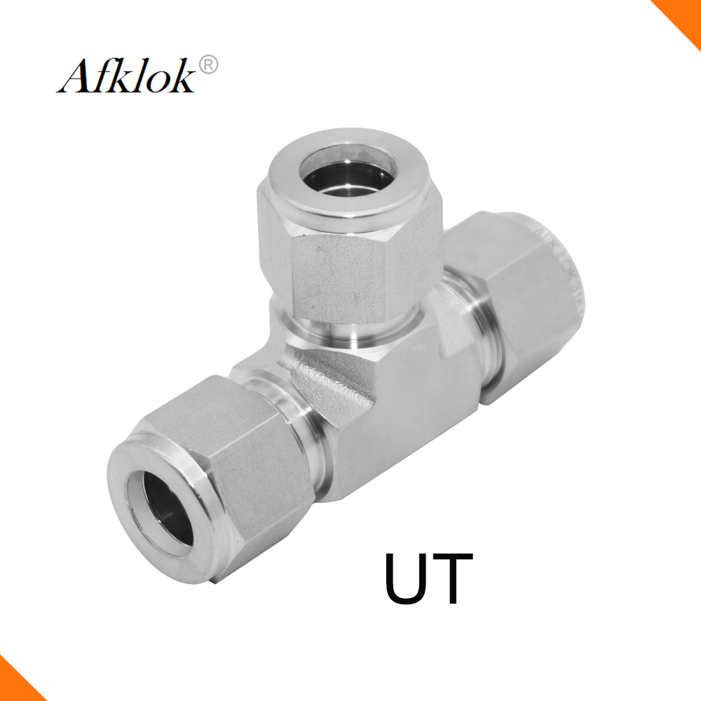 Way Equal Union Tee Fittings Stainless Steel