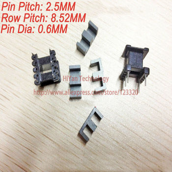 20sets/lot EE13 PC40 Ferrite Magnetic Core and 3 Pins + 2 Pins Top Entry Plastic Bobbin Customize Vo