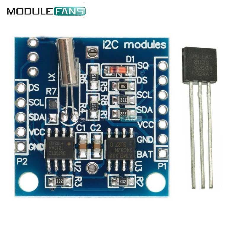 Detail Feedback Questions about 2PCS I2C IIC RTC DS1307