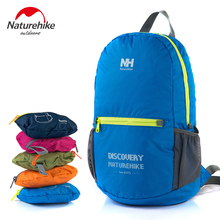 New Brand Mens Backpack Bag Male Outdoor Waterproof 15L Folding Bags Female Sport Hiking Backpacks Camping Polyester NatureHike