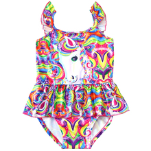 2019 New Toddler Unicorn children swimsuit for girl one piece baby girls unicorn kid bathing suit swimming costume 0327