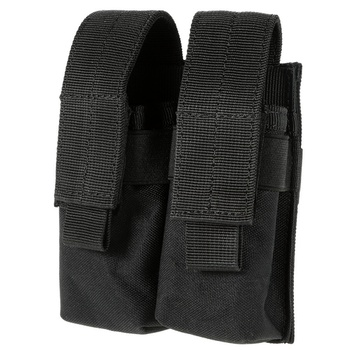 CQC Molle System Tactical Pistol Double Magazine Pouch Molle Clip 9MM Military Airsoft Mag Holder Bag Hunting Accessories 3