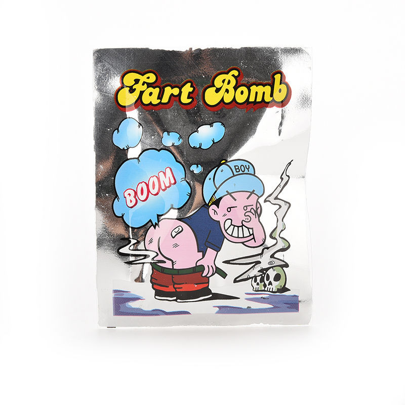 April Fool's Day Halloween Creative Prank Bromas Stench Bag Gadget Smelly Package Fart Bomb Bag Funny Gadgets Toys