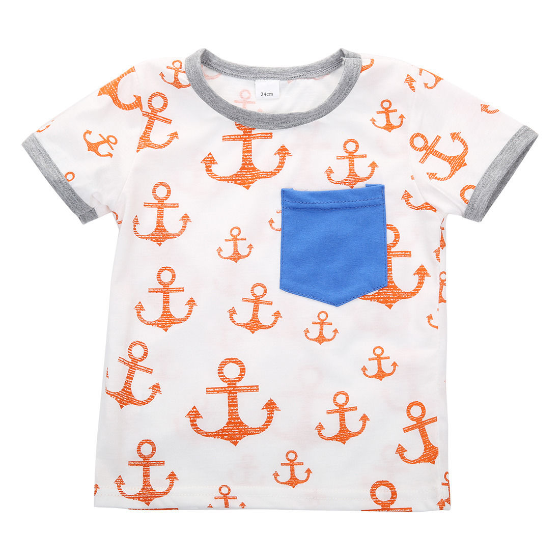 Llegada Infant Baby Summer Toddler Kids Boy Camisetas de manga corta - Ropa de ninos - foto 4
