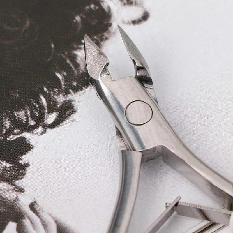 Nail Art Nipper Stainless Steel Cuticle Clipper Manicure Plier Cutter Pedicure Tool