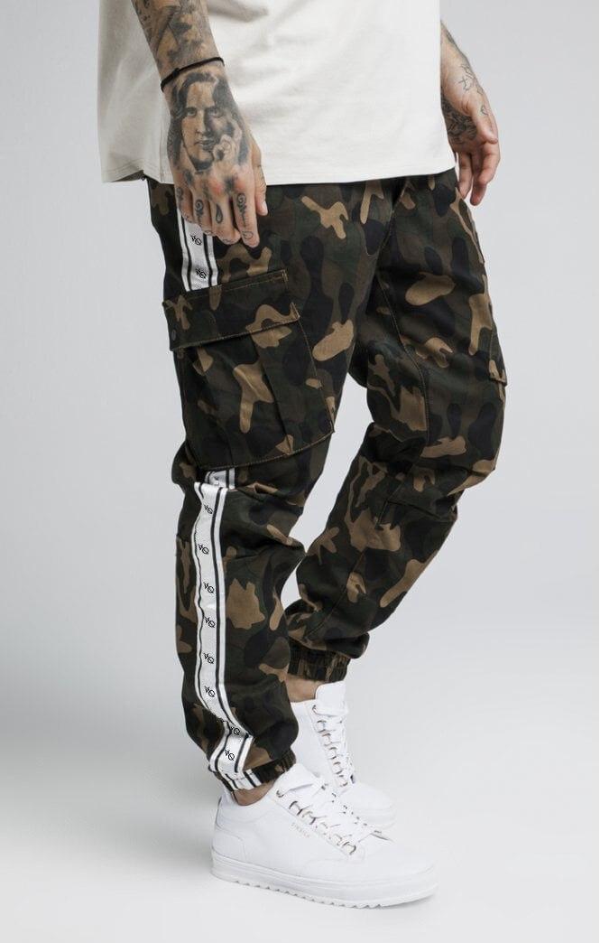 2019 Neue Marke Patchwork Camouflage Hosen Vanquish Jogginghose Männer Casual Fitness Lose Cargo Hosen Hip Hop Camo Hosen Extrem Effizient In Der WäRmeerhaltung