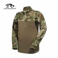 2019 neue Multicam Combat Shirt Jagd Kleidung Airsoft Tactical emerson Armee Military Wargame Multicam T-shirts Teflon Wasserdicht