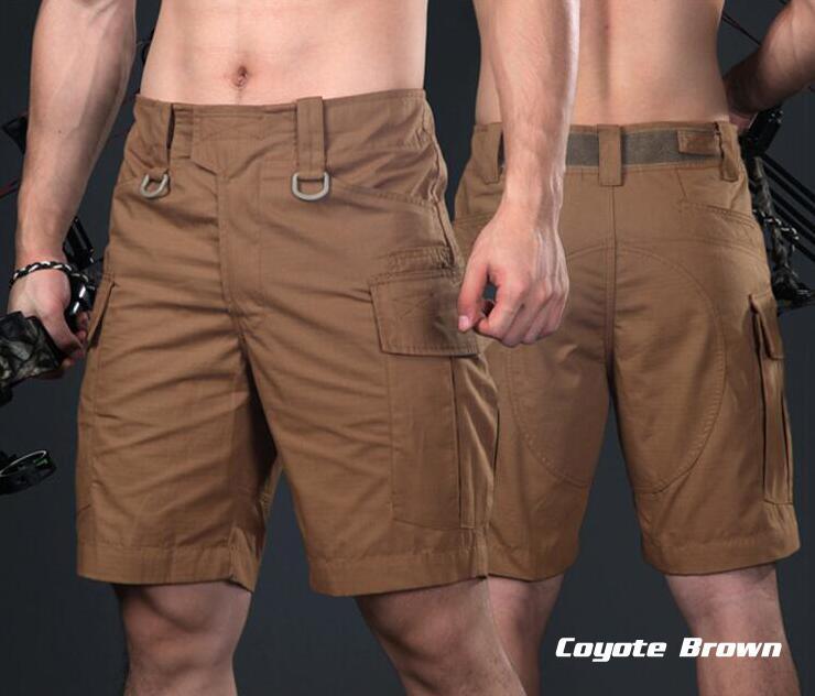 Warchief Multicam noir tropique militaire tactique Shorts Camouflage Cargo pantalon hommes Coyote marron loup gris (STG051132) - 5