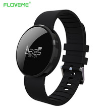 FLOVEME Für iPhone Samsung Android IOS Bluetooth Sport Smart Uhr Schrittzähler Herzfrequenz Smartwatch SMS Anruf Erinnern MP3 Armband