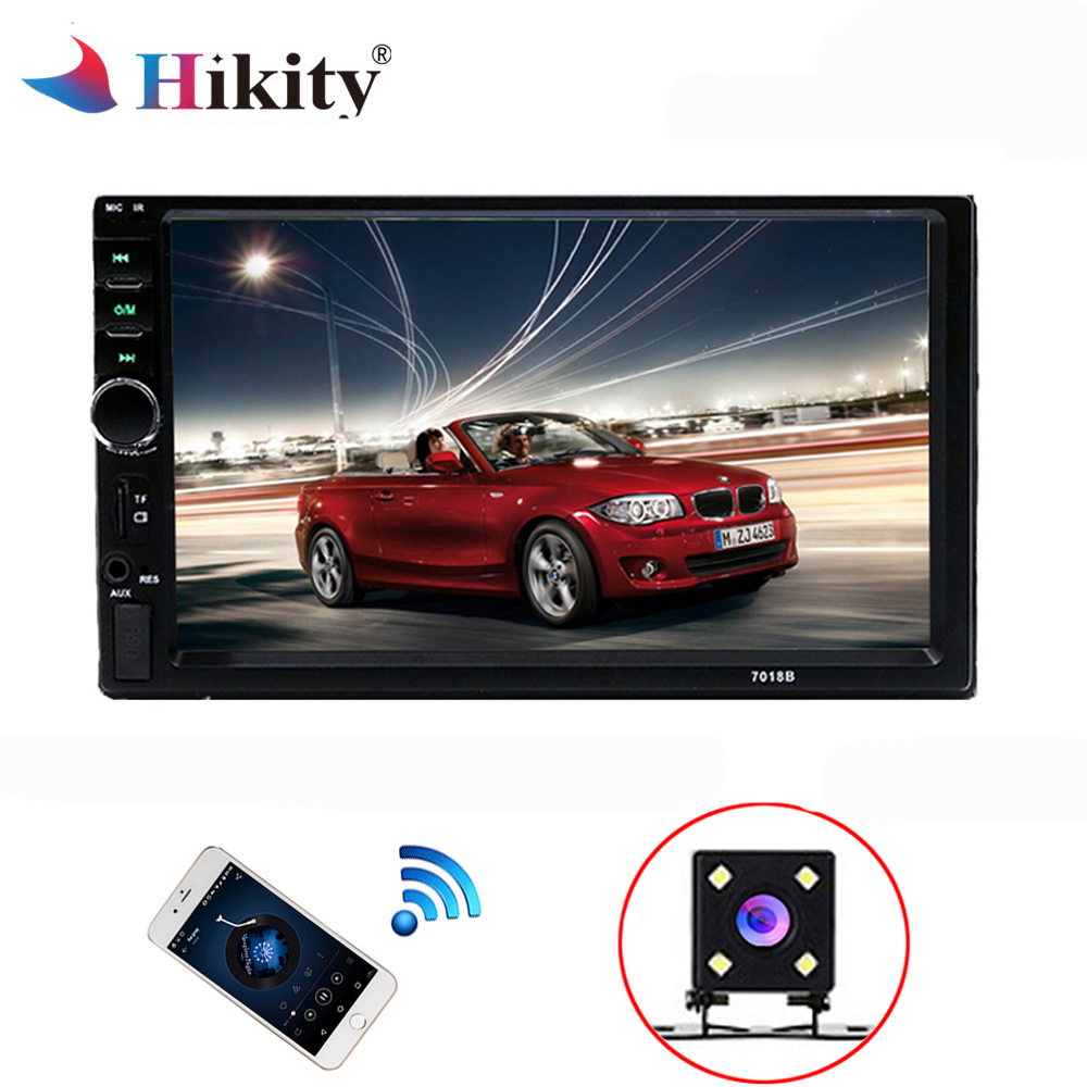 Hikity 2 din Car Multimedia Player Autoradio Universal Stereo 7 Touch Screen Bluetooth Video MP5 Player