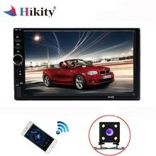 """Hikity 2 din Car Multimedia Player Autoradio Stereo Universale 7 """"Schermo di Tocco di Bluetooth Video MP5 Lettore Audio di Sostegno Della Macchina Fotografica"""