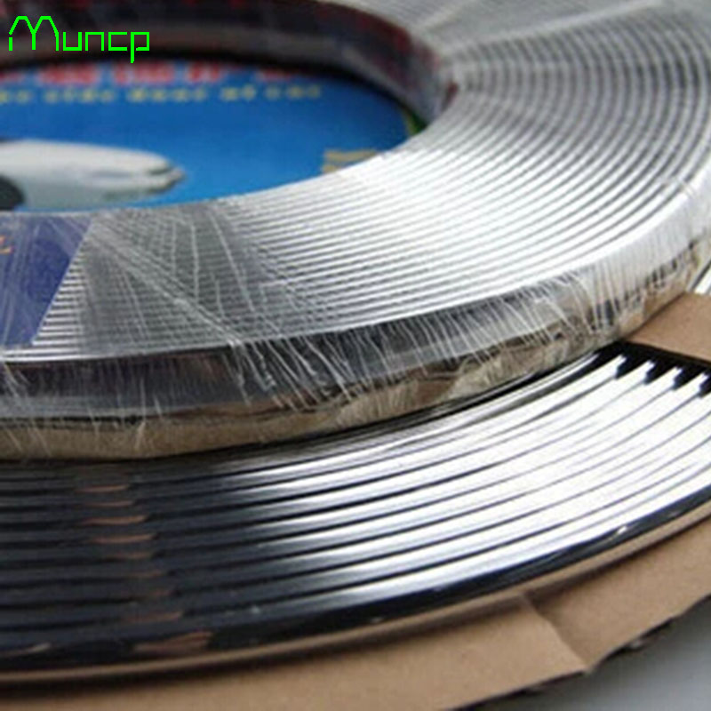 Image 2 - Muncp 10mm x15m Chrome Trim Styling Car Molding Exterior Interior Decoration Trim Strip For Land Rover Range Rover/Evoque-in Car Stickers from Automobiles & Motorcycles on AliExpress