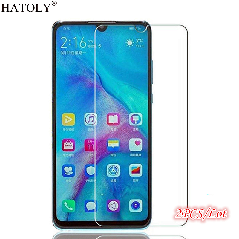 2Pcs Glass Huawei Y5 2019 Screen Protector For Huawei Y5 2019 Tempered Glass Full Glue Protective Phone Glass For Huawei Y5 2019