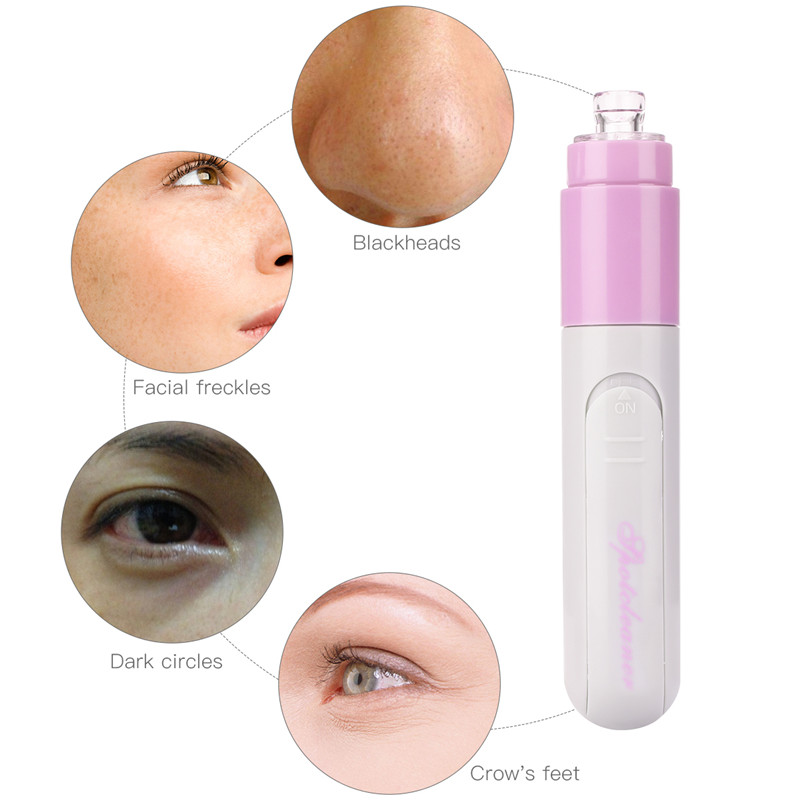 Electric Facial Pore Cleanser Skin Care Face Dirt Suck Up Vacuum Acne Pimple Blackhead Remover Mini Blackhead Clean Removal Tool 1pc electric facial pore cleanser skin cleaner face dirt suck up vacuum acne pimple remover blackhead clean massage tools
