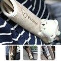 Par Urso Kawai Crianças Cinto de segurança Capa Ombro Pad Cinto de Segurança Do Carro Proteção Strap Ceinture Suave de Alta Qualidade Carro-cobre