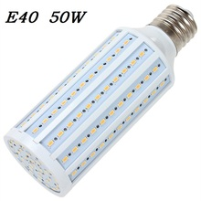 E40 LED Corn bulb Lamp 50W 165 LED Bombillas 5730 SMD for Outdoor street lighting Home Jelwery showcase shop 110V/220V 1pcs/lot