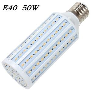 E40 LED Corn bulb Lamp 50W 165 LED Bombillas 5730 SMD for Outdoor street lighting Home Jelwery showcase shop 110V/220V 1pcs/lot