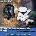 Acessórios do carro carro Starwars star wars-estilo dos desenhos animados tomada brilhante chapeamento de prata perfume fragrância sw-9 freeshipping