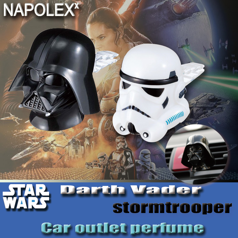 car accessories Starwars star wars car styling cartoon outlet bright silver plating perfume fragrance sw 9