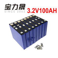 8PCS 3.2V 100Ah lifepo4 battery cell 12V 12.8V 24V Long Life Cycles 3500 Times 1C For Solar Energy Storage  pack catl more 102AH