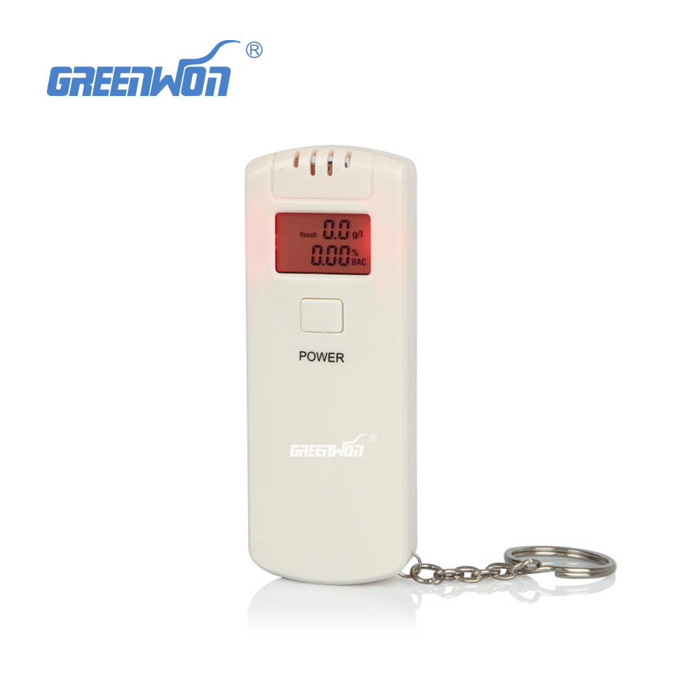 2017 wholesale cheap and nice mini personal gift breath alcometer with digital lcd display inhaler alcohol meters