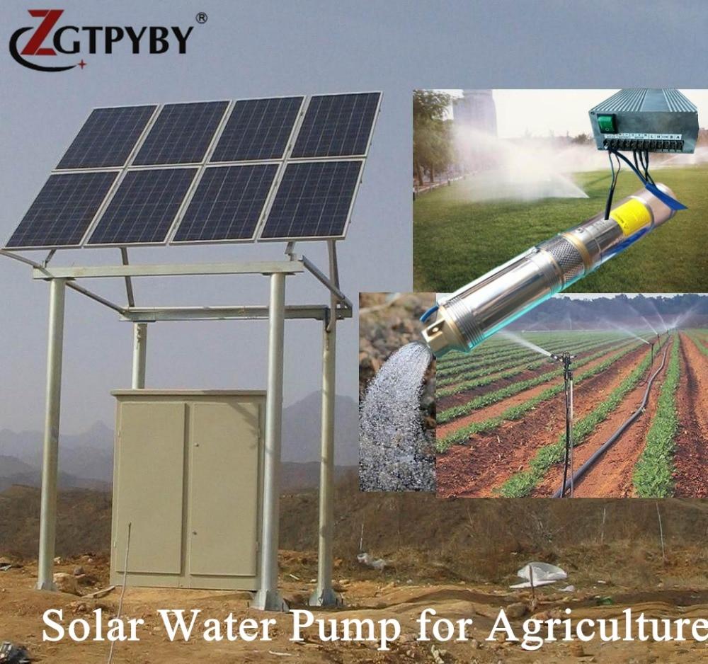 3 ans garantie solaire bien pompe à eau exportés vers 58 pays, l'énergie solaire système de pompe à eau pour l'irrigation livraison gratuite