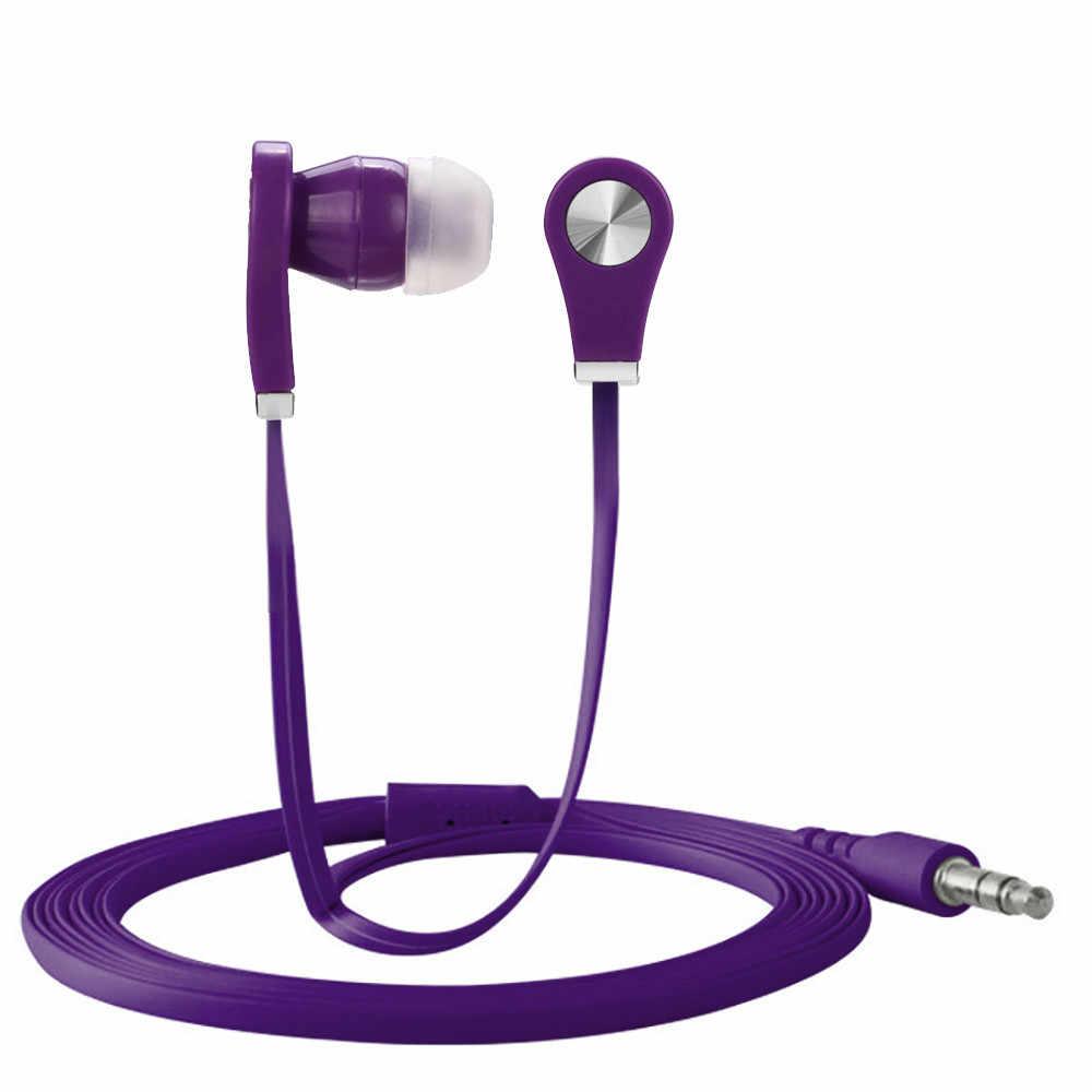 Uniwersalny 3.5mm douszne słuchawki Stereo słuchawki do telefonu komórkowego
