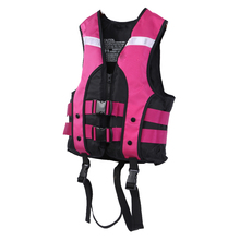 Child Life Vest Jackets Children's Lifejacket Fishing Life Saving Vest Inflatable Life Jacket for Drifting Water-skiing Upstream