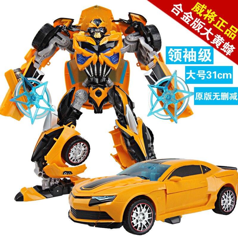 Selling Viagra Alloy Edition Bumblebee 4 Manual Deformation Deformation Robot Toys