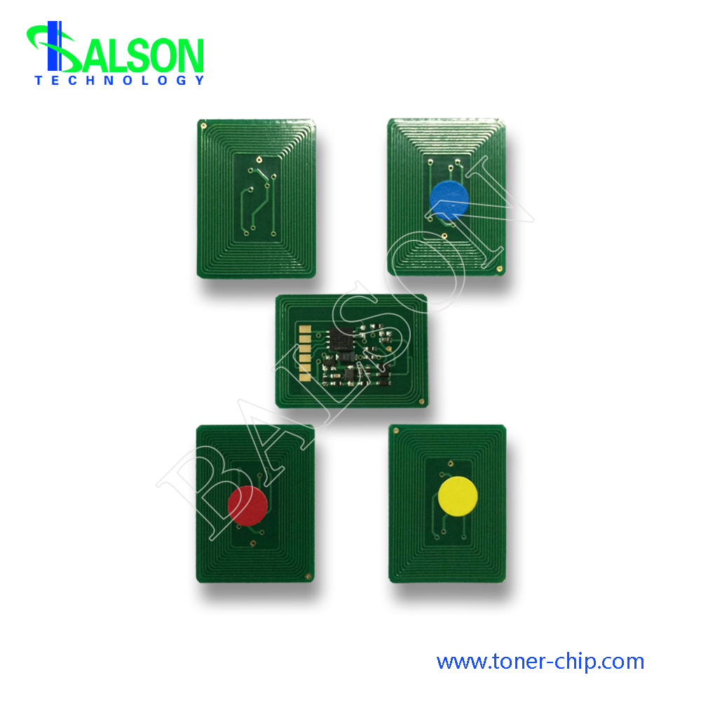 Free shipping 10K Hot sale toner chip for oki es8431 es8441 cartridge reset chips 44844516 44844514 44844515 44844514 in Cartridge Chip from Computer Office