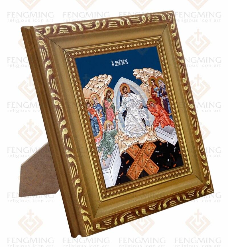 Großhandel bilderrahmen Orthodoxe Kirche liefert Abstieg in hades ...