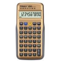 Professional Financial Calculator Handheld Multi Function 10 Digital Display LCD Data Analysis Calculator