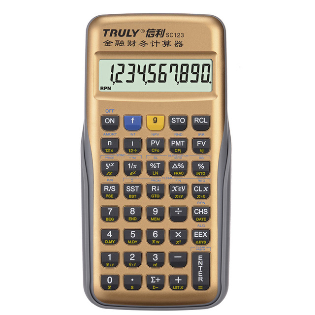 Professional Financial Calculator Handheld Multi function 10 Digital