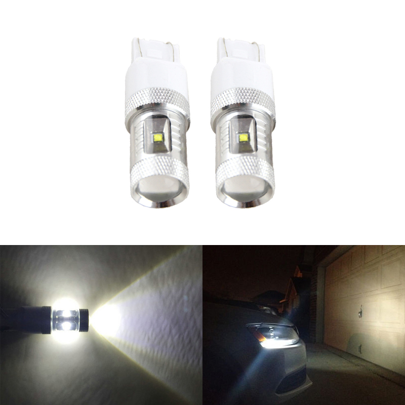 Direct Fit For VW Passat For Beetle Daytime Running DRL Lights 2012-Up 30W 6500K White Led Replacement Bulb Car-Styling le32a500g crh led driver v1 4 booster direct replacement used disassemble