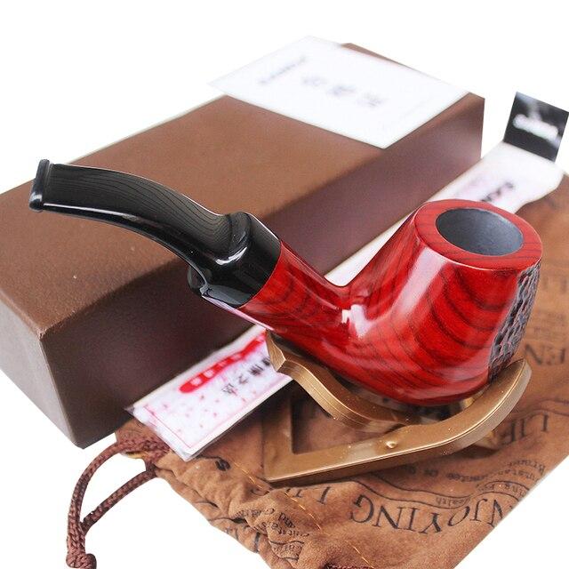 Palissandre Bois Tuyaux Pour Fumer De L Herbe Bent Type Fumee De
