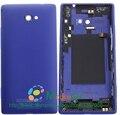 Оригинал Для HTC Windows Phone 8X C620e Задняя Крышка Батарейного Отсека Крышка Корпуса Чехол С Боковыми Кнопками Запчасти Замена