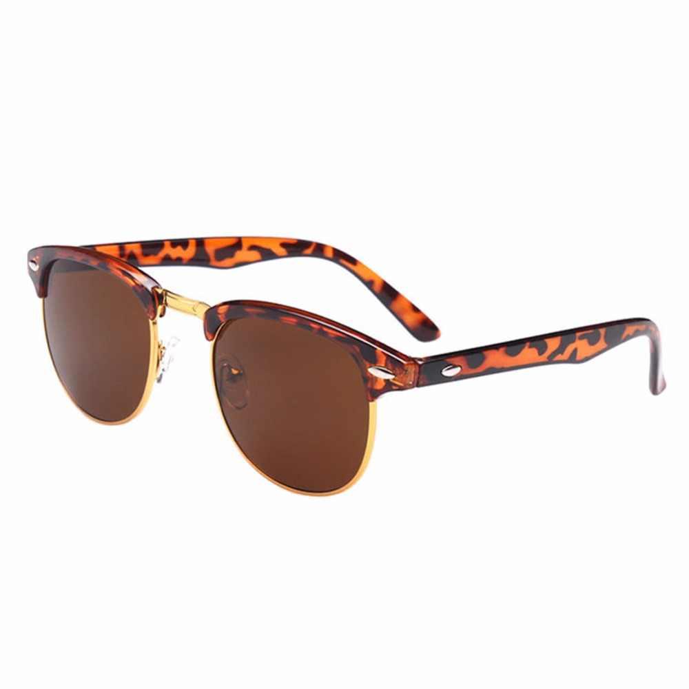 9445dcddef7 Men Myopia Sunglasses Half Frame UV400 Shortsighted Lenses Driving Glasses  Negative Strength 0.5~6.0(