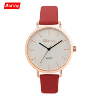 Abrray Fashion Gift Women S Leather Quartz Wristwatches Simple Style Women Watches Luxury Brand 3ATM Waterproof