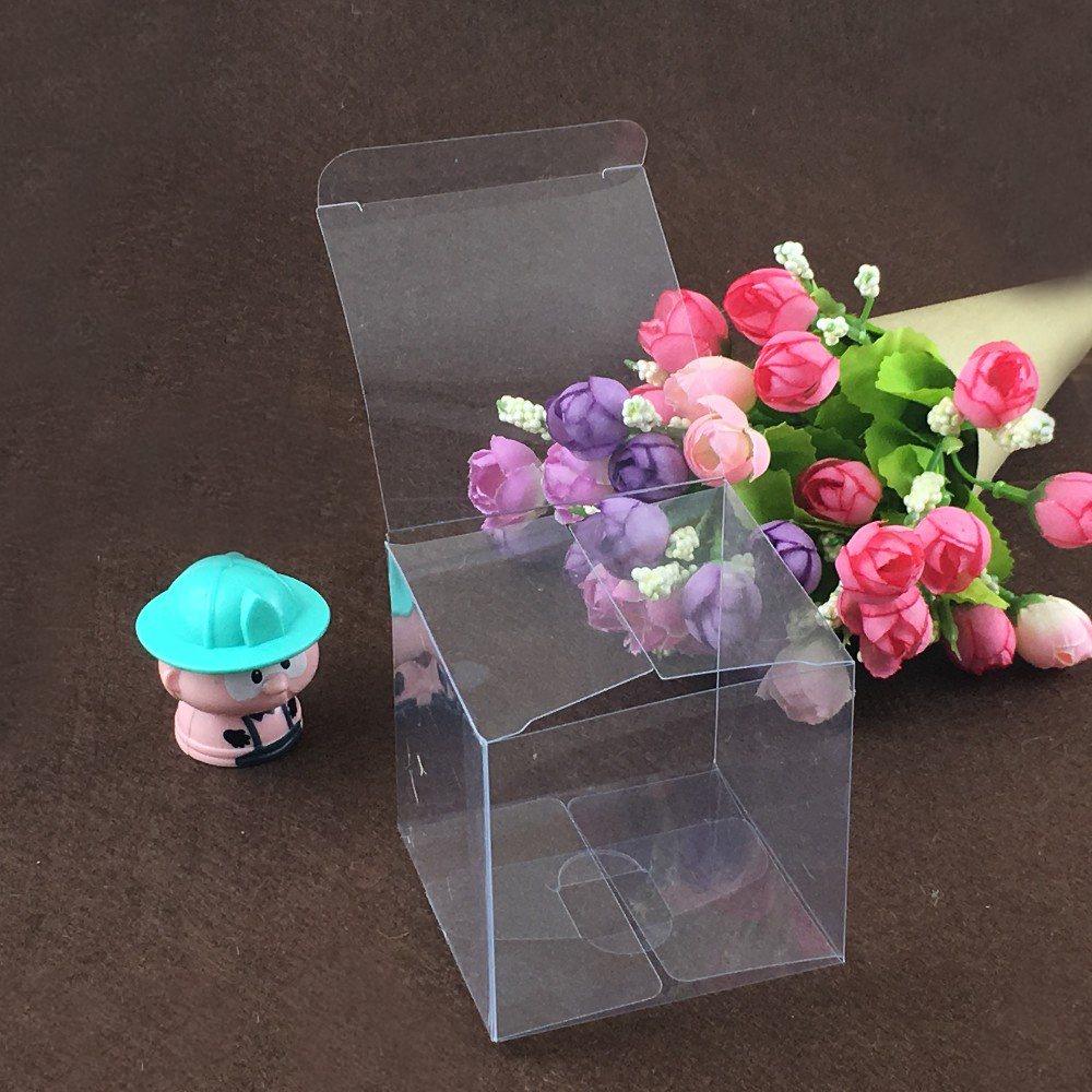 Ultimate Sale╞Transparent-Boxes Packaging-Display Plastic-Box-Storage Square Clear Food/jewelry 50pcs