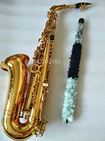 New instrument Alto Saxophone golden R54 model free shipping high quality professional grade Beginner Adult Sax and case