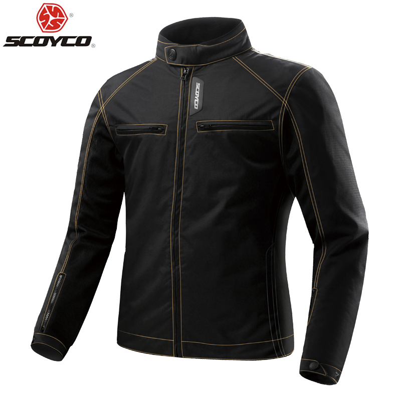 SCOYCO Motorcycle Jacket Summer Mesh Breathable Motorbike Racing Jacket with Protective Body Armor Motocross Riding Suit scoyco motorcycle motorbike touring riding jacket motocross off road racing jacket breathable clothing with 7 pieces protectors