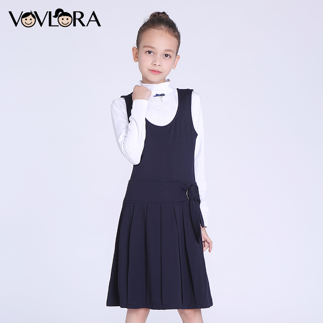 Uniform Dresses with Straps
