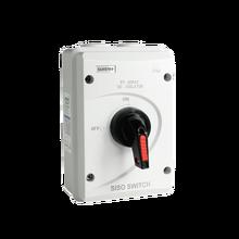 DC 1000 V 32A SISO PV DC Trennschalter für Solar System ON OFF Transer IP66 Wasserdichte Isolator schalter mit ABS Box