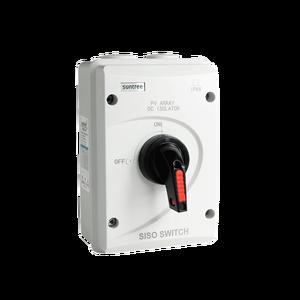 Image 1 - DC 1000 V 32A SISO PV DC Trennschalter für Solar System ON OFF Transer IP66 Wasserdichte Isolator schalter mit ABS Box