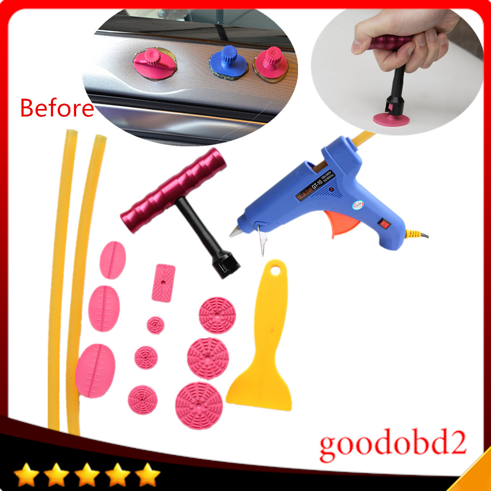 Car Body Panel Paintless Hail Repair   Dent Lifter Removal Tool /& Puller Tabs