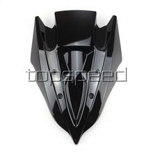Мотоцикл лобовое стекло для Kawasaki z250 z300 2013 черный