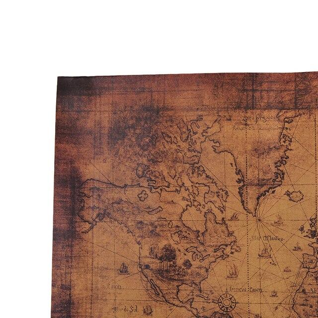 725x515cm retro vintage style world map paper posters in wall 725x515cm retro vintage style world map paper posters in wall stickers home decoraction gumiabroncs Images
