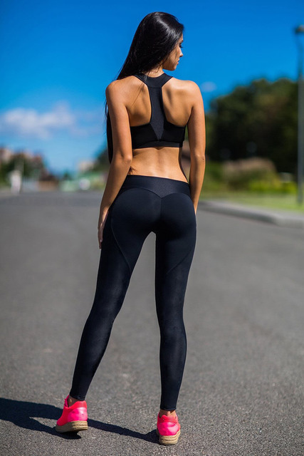 Black Ass In Yoga Pants