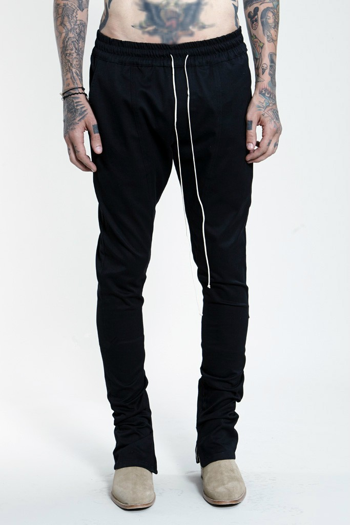 Hip Hop Pants With Zippers