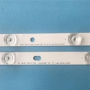"""Image 2 - LED バックライトストリップ LG 47 """"インチテレビ 9 ランプイノテック ypnl DRT 3.0 LG47lb5610 6916L 1715A 1716A LG47LY340C LG47GB651C 2 ピース/ロット"""